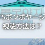 BTSボンボヤージュ4の無料視聴方法は?日本語字幕付きで見れる?