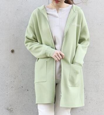着飾る恋には理由があって川口春奈さんへ向井理が選んだ黄緑のパーカー(コムサイズム)