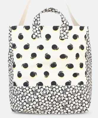 着飾る恋には理由があって川口春奈のバッグ・ステラマッカートニーのルーシュオレンジプリントビーチバッグ