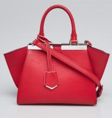 着飾る恋1話で川口春奈さんが身に付けていた赤いフェンディのハンドバッグ