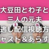 大豆田とわ子と三人の元夫|見逃し動画配信を無料で視聴できるのは?